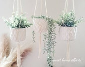 Minimalist Plant Hanger - Macrame Plant Hanging