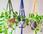 Tassel Free Plant Hangers - No Tail Macrame Plant Hangers