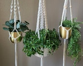 Macrame Plant Hanger - Natural Plant Hanging