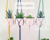 Simple Plant Hanger - Macrame Hanging Plant