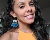 NEW!!! Tribal Pattern Earrings - Macrame Earrings