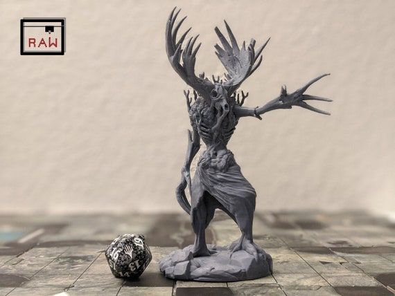 Maw Demon Resin Miniature for D/&D Dungeons and Dragons or Tabletop Gaming