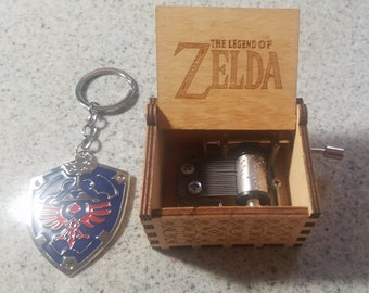 NES Gold Variant The Legend of Zelda Keychain Handmade Collectable