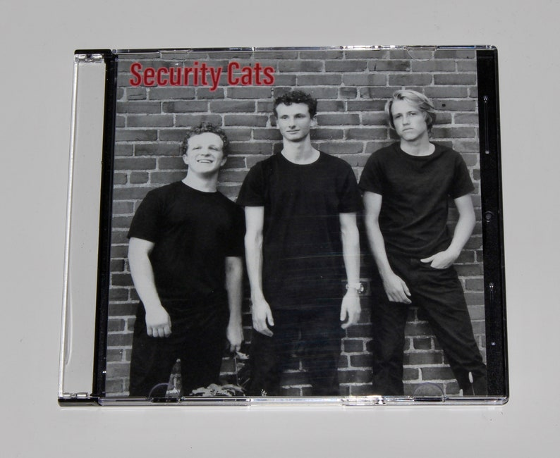 Security Cats CD image 1
