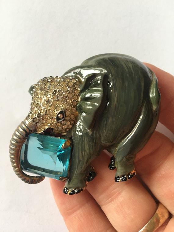 Corocraft  sterling   Elephant  rare