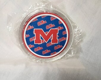 Mississippi RebelsOle Miss Acrylic Coaster 4-Pack