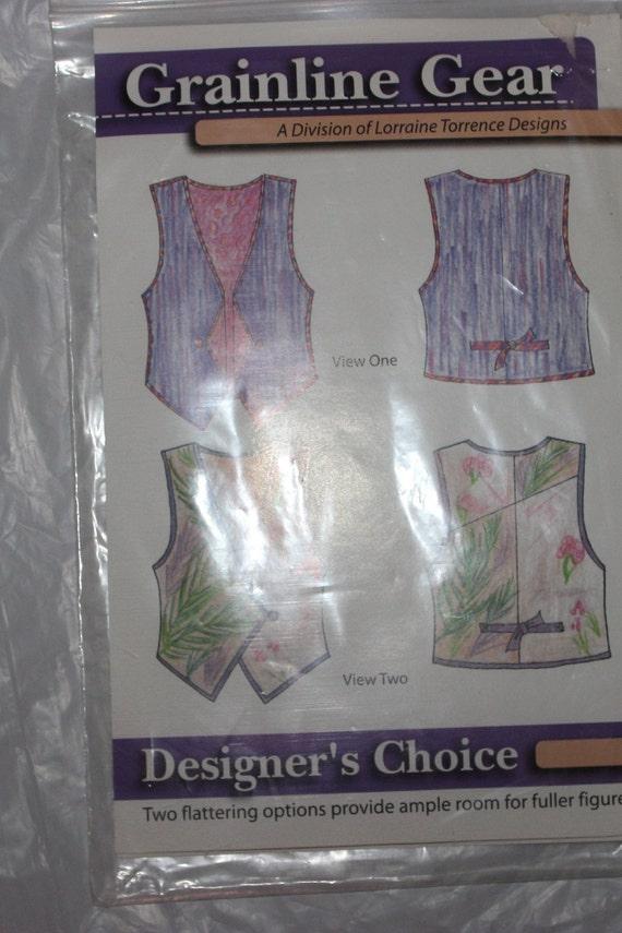 Grainline Gear Vest Pattern suitable for Fuller Fi