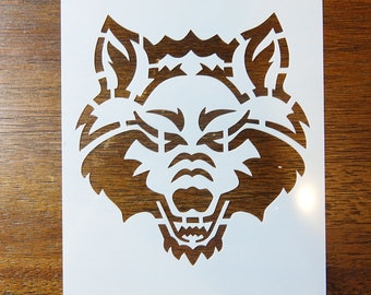Arkansas State Red Wolves NCAA Family Decal Large