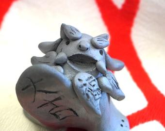 Koma Chan  Ver.B     (gift,ornament,amlet,Japanese items,Japanese art  -healing- )