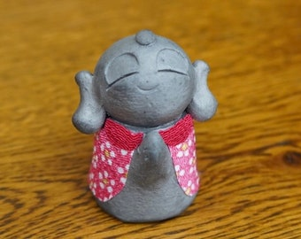 "HAPPINESS KAWAII JIZO  Kimono ver. F""  (kyoto/japaneseartist mede)"