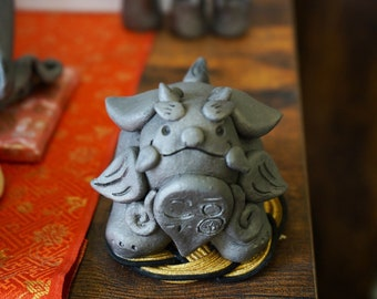 Koma Chan  Ver.A         (gift,ornament,amlet,Japanese items,Japanese art  -healing- )