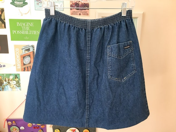 80s Denim Skirt