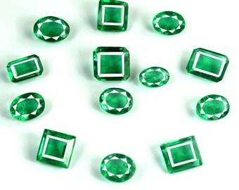 Discounted Price Natural Pear Cut 3.70 Ct Zambian Green Emerald May Birthstone AGI Certified