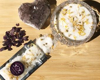 Bath Salts, Calming bath Salts, bath soak, Bath Aromatherapy,  Essential oils,  Relaxation gift, Spa gift, epsom bath salts, bath salt