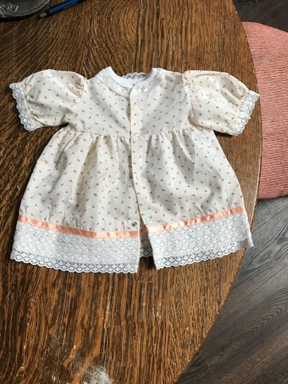 Vintage Strawberry Baby Dress