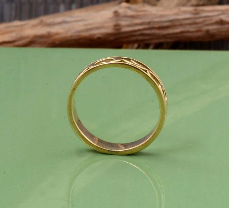 Minimalist ring,Brass ring,Vintage Rings,Boho Rings,Handmade Ring,Gift For her,Valentine Gift,Promise Ring,Couple rings,Midi ring