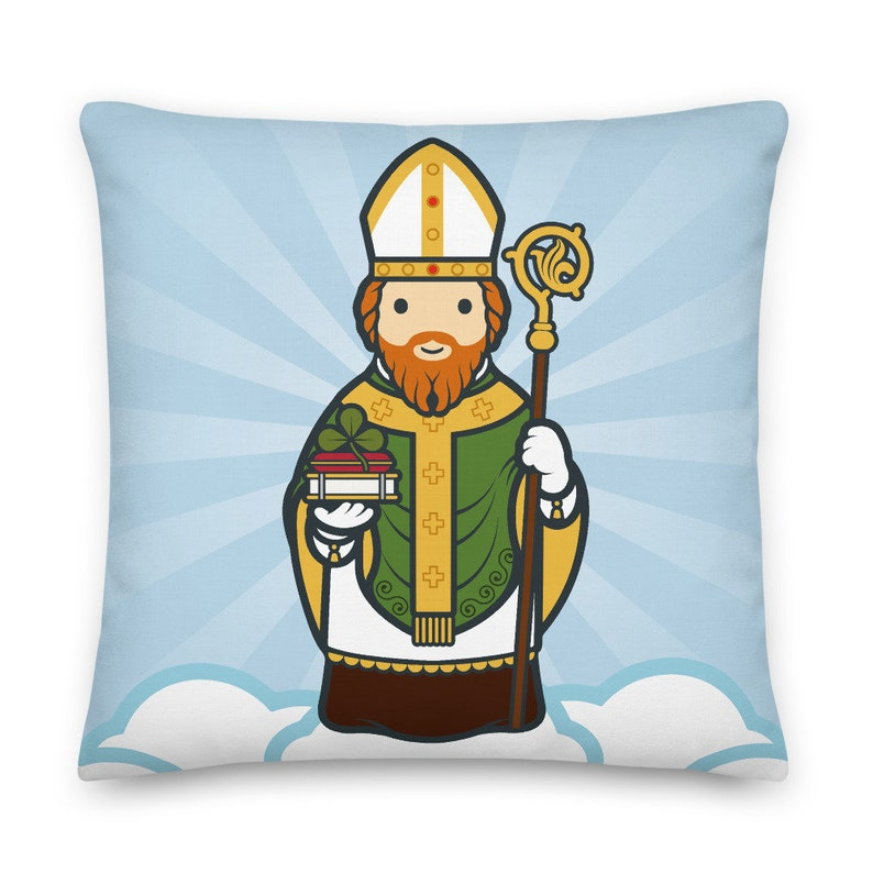 Saint Patrick Premium Pillow