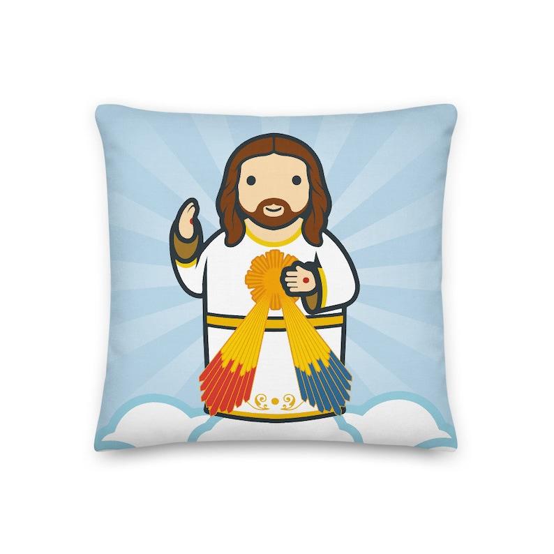 Divine Mercy Premium Pillow image 0