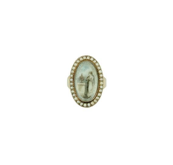 18th Century Mourning Ring