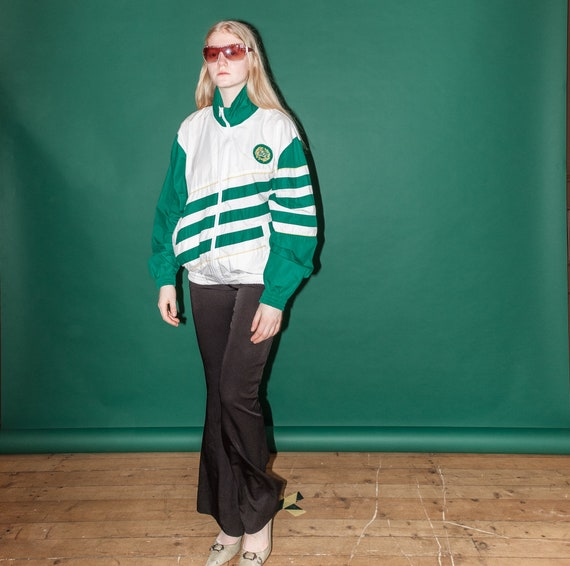 Vintage rave sport jacket / 1990s