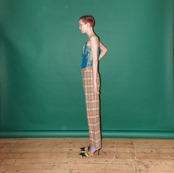 Vintage checkered pants - image 2