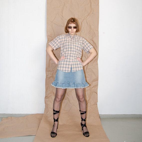 Vintage Burberry checkered shirt