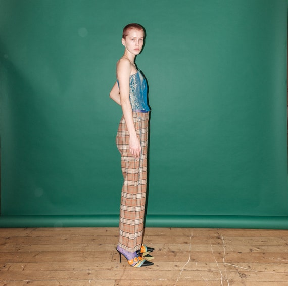 Vintage checkered pants - image 4