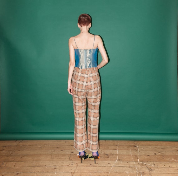 Vintage checkered pants - image 3