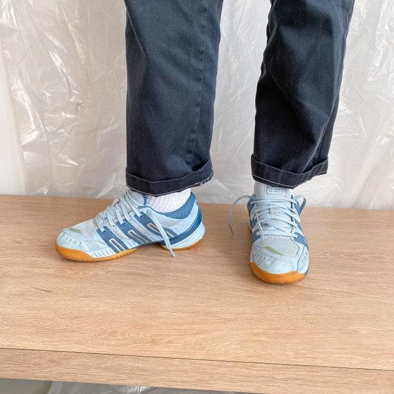 Vintage Adidas blue sneakers / 1990s