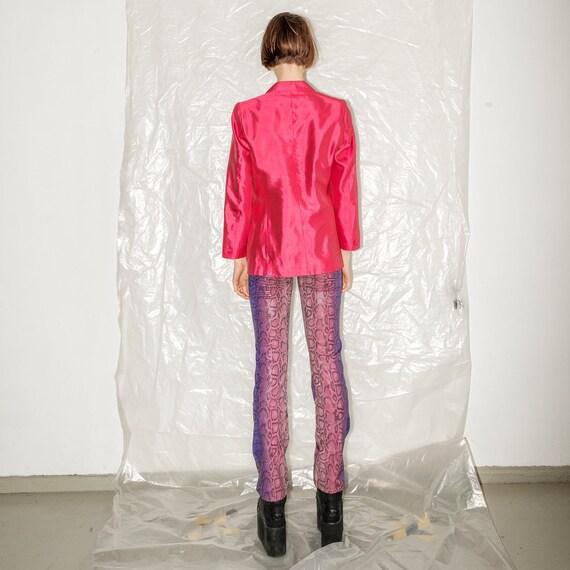 Vintage retro pink blazer - image 3