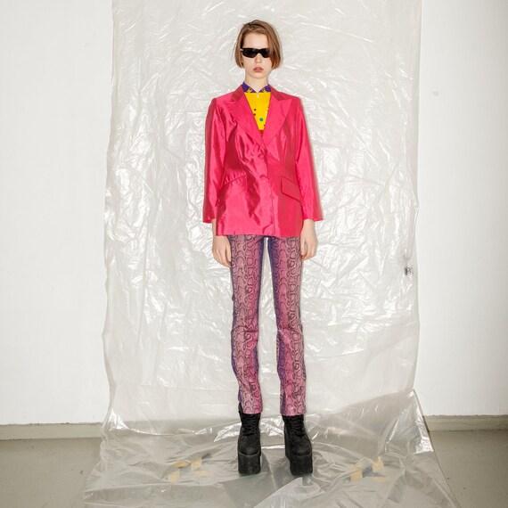 Vintage retro pink blazer - image 5