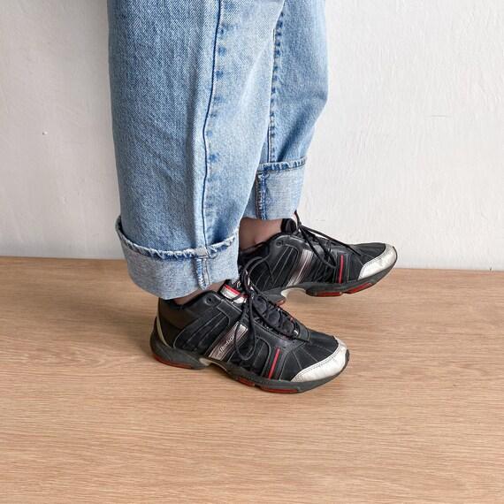Reebok vintage black sneakers - image 2