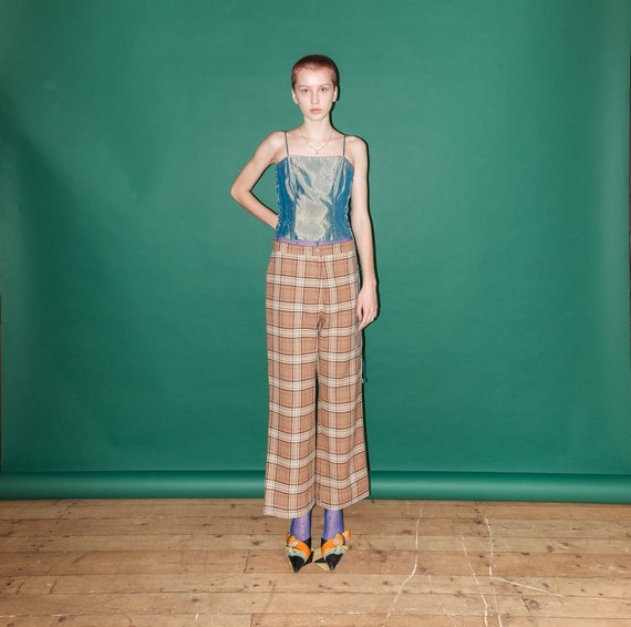 Vintage checkered pants - image 5