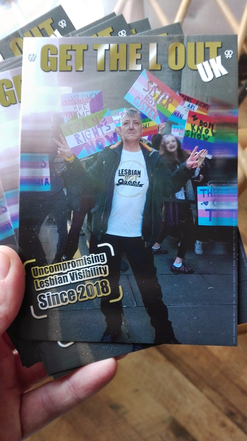 Lesbian Visibility Postcard
