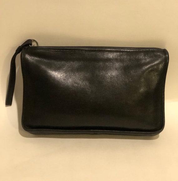 Vintage coach wristlet bag