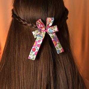 Liberty Betsy Girls Hair Bow