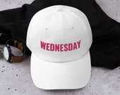 On Wednesdays We Wear Pink Baseball Cap, Mean Girls, Broadway Show, Mean Girl Movie, Musical Theater, The Plastics, Embroidered Cap