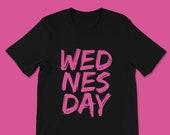 On Wednesdays We Wear Pink Mean Girls Shirt, Unisex Cotton Tee, Broadway Musical, Mean Girls Movie, The Plastics