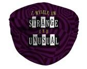 Strange & Unusual Face Mask, Adult and Kids Sizes, Beetlejuice Musical, Broadway Show, Beetlejuice Movie, Lydia Deetz