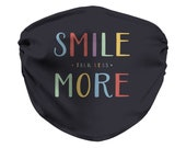 Talk Less Smile More Face Mask, Hamilton Musical, Aaron Burr, Broadway Show, Musical Theater, Hamilfan, Adjustable Mask
