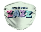 Give It Some Zazz Face Mask, The Prom Musical, Broadway Show, Theater, Dance, The Prom movie