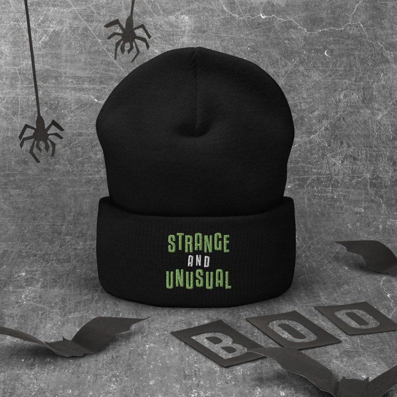 Strange and Unusual Beanie Beetlejuice Musical Broadway image 0
