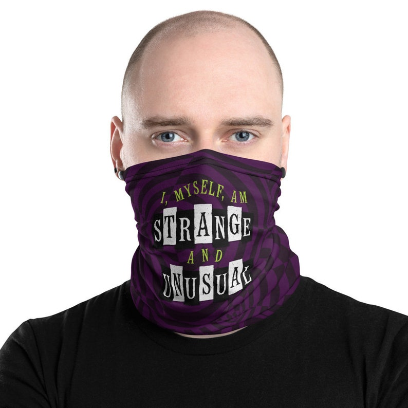 Beetlejuice Neck Gaiter Face Cover Broadway Show image 0