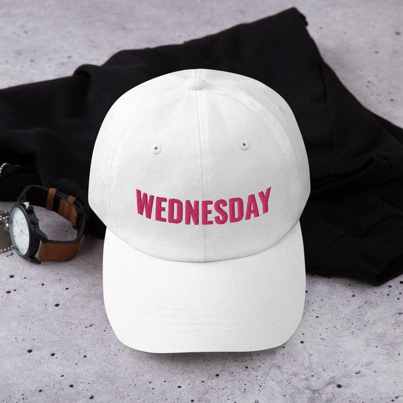On Wednesdays We Wear Pink Baseball Cap Mean Girls Broadway image 0