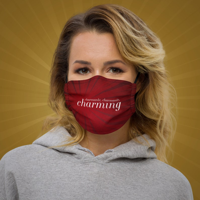 Charming Face Mask Great Comet of 1812 Natasha Pierre image 0