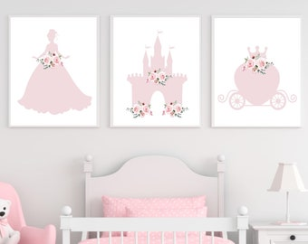 Princess wall decor  Etsy