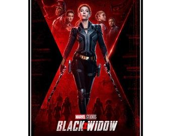BLACK WIDOW MARVEL MOVIE POSTER FILM A4 A3 A2 A1 CINEMA PRINT #2