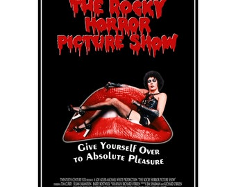 The Rocky Horror Picture Show Movie Poster Prints and Unframed Canvas Prints