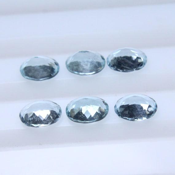 Aquamarine smooth oval beads Aquamarine oval Shape 100 percent natural Gemstone size 19x13 mm approx.