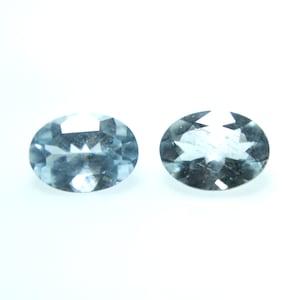 Natural Aquamarine Gemstone 4.25Cts AAA+ Top Blue Color Aquamarine Gemstone oval shape Faceted Loose Gemstone 12x10x6MM